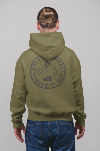 mockup-of-a-man-with-a-hair-bun-facing-backwards-wearing-a-pullover-hoodie-23081